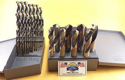 Silver & Deming Drill Bit Set 37 Pcs 1/16