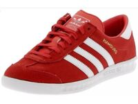Mens Red Adidas Hamburg 8.5uk & 9.5 £50