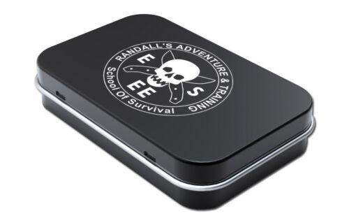 ESEE Knives Logo Mini Pocket Survival Tin - Fishing Kit - NEW