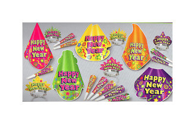 New Years Eve Celebration Party Kit Color Splash for 10 fnt](New Years Eve Party Kit)