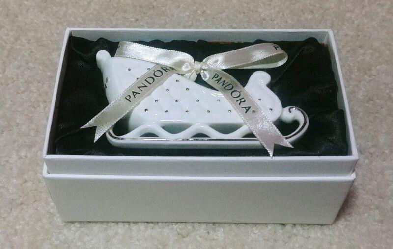 NEW Pandora Sleigh Ornament Holiday 2014 P01047