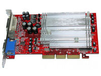 ATI Radeon 9550Se - C3D 6057 - 128MB AGP Video Graphics Card