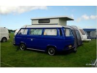 VW T25 camper 2.1 unleaded 1990 lhd