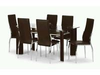 Boston Dining Room Table and Chairs