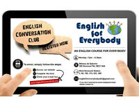 English Conversation Club (English Conversation Class)