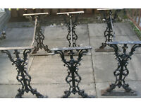 cast iron antique? table supports
