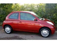 Cheap Nissan Micra 1.2 16v Spirita. 3doors ,Long MOT. Cheap Insurance.