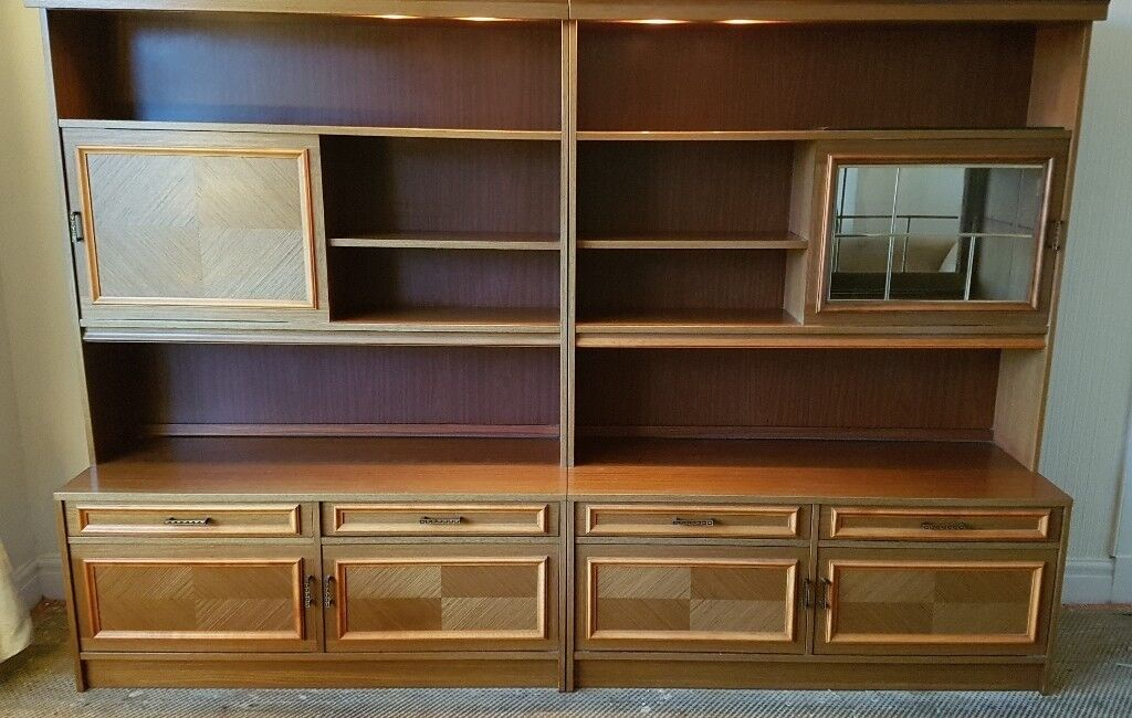 Ulferts rosewood wall units | in Kelvindale, Glasgow | Gumtree