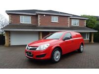 Vauxhall Astra CLUB ECOFLEX (red) 2013