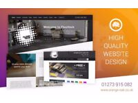 Affordable Website Design with in built SEO from friendly Brighton based designer.