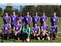 MENS SUNDAY 11 ASIDE FOOTBALL TEAM LOOKING FOR NEW PLAYERS: PLAY FOOTBALL IN LONDON