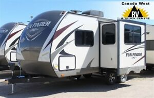 2018 Cruiser RV FUN FINDER 19RB COUPLES TRAVEL TRAILER