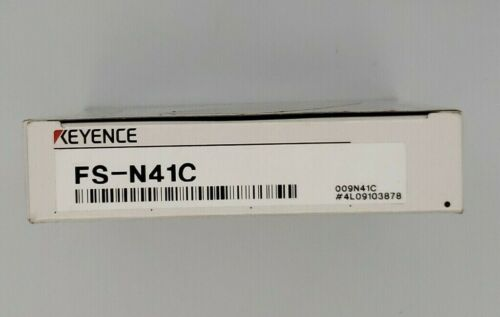 New Keyence FS-N41C Fiber Sensor Amplifier FSN41C - Fast Free US Shipping!
