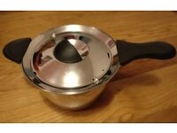 M&S stainless steel large 3l saucepan