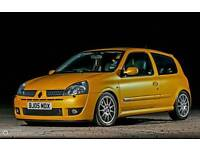 Renault Clio 182 Wanted