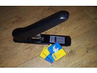 Rapesco 55 Heavy Duty Stapler Black 923/8-23mm, Office, +3000 923/23mm staples excellent condition