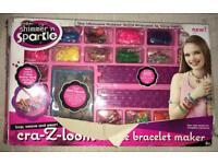 Cra- Z- Art shimmer sparkle deluxe Loom Bracelet maker - Over 3400 pieces