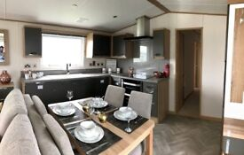 Luxury Static Caravan, 12 month season*, direct beach access, pet friendly park