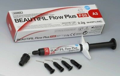 Beautifil Flow Plus F00 Dental Composite - Shofu - Bleach White Bw