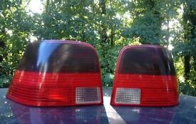 Mk4 Golf Tinted Smoked Rear Tail Lights 98-04