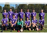 Find a football team, 5 aside football near me, join football team in London ref:191h2