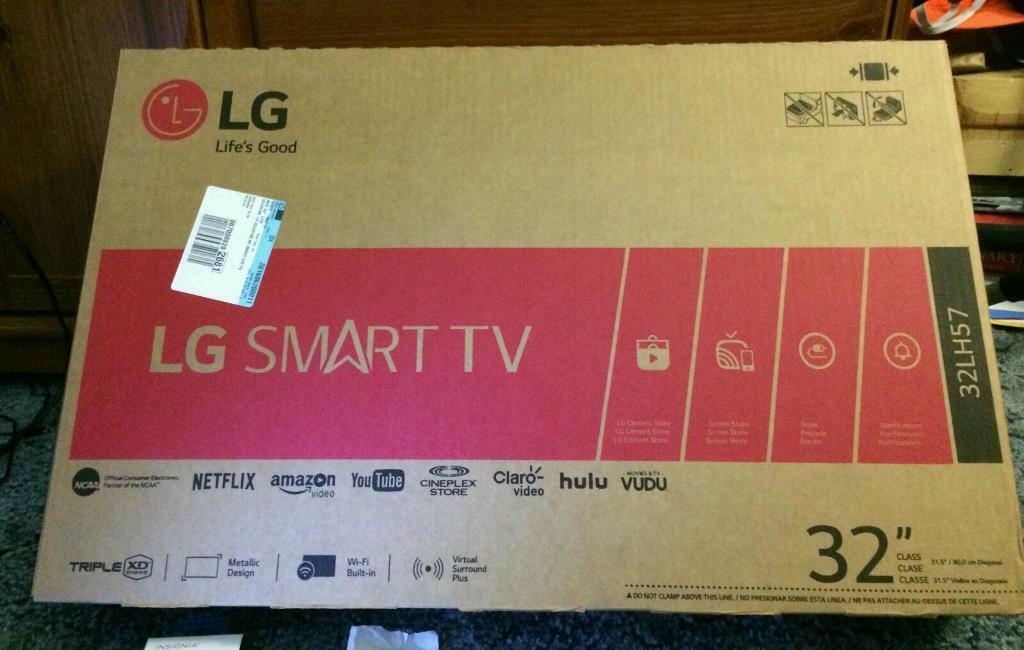 Lg 32 Inch Smart Tv Full Hd 1080p Brand New In Leith Edinburgh