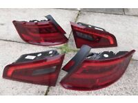 2014 + Audi A3 S3 RS3 8V 5DR - LED Rear Lights Tail Lights Cluster Complete Set