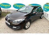 CAN'T GET CREDIT? CALL US! Renault Megane 1.6dCi Dynamique TomTom (s/s) - £200 DEPOSIT, £43 PER WEEK