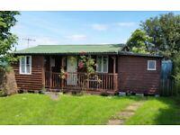 Holiday chalet for sale, Ovington Northumberland. NE42 6EF