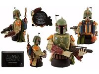 Star Wars Gentle Giant BOBA FETT DELUXE MINI BUST 2013 SDCC 2500 Made Only