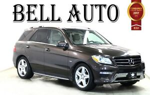 2012 Mercedes-Benz M-Class ML 350 BLUETOOTH NAVIGATION PANAROMIC