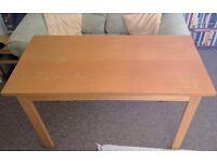 Wooden Desk/Table 122 cm x 61 cm x 73 cm