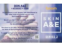 Do you know anyone who suffers with a skin complaint? DERMATOLOGY / SKINCARE / HEALTH / TV