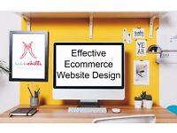 Pro eCommerce web design & development, E-commerce store developing, from £100