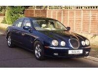 Jaguar S-Type 3.0 SE 2001 (Y) Saphire Blue metallic. Spares or Repair (Gearbox Fault)