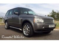 2009 Range Rover TDV8 WESTMINSTERlimited edition Stornoway grey metallic, FSH, 12 mths mot, GORGEOUS