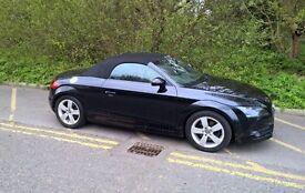 Audi TT 2.0 TFSI Exclusive Line Roadster 2dr, Convertible, 2008, Petrol, Black, FSH