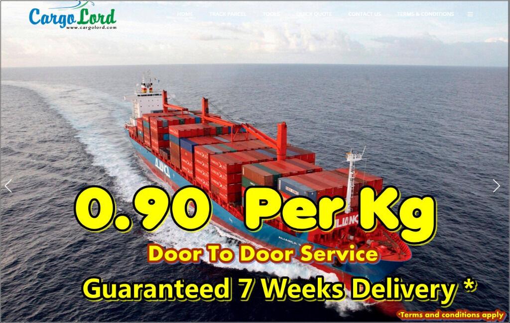 Cargo to Pakistan from 0 99 p per kg | in Alum Rock, West