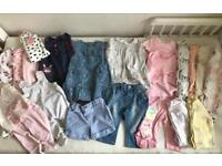 Baby girl clothes bundle 0-3 3-6 months