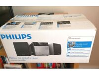 Philips MC127 hi-fi Audio Shelf System/hardly used brand new sale for only £20