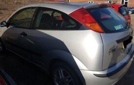 2003 Silver Ford Focus 1.8 diesel