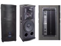 QUICK SALE: One Active Mackie SR1530 powered PA speakers - Grab a bargain £500 - £295