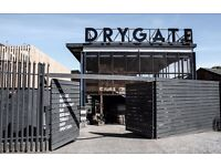 Calling all beer geeks! Drygate need staff with a passion for great beer and great service