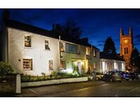 Assistant Restaurant & Bar manager required for The Inn at Kippen