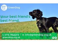 Dog walking, dog training, behavioural problem solving. Rushcliffe, West Bridgford, Wilford etc.
