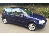 AUTOMATIC 2001 VOLKSWAGEN POLO SE ONE YEARS MOT GOOD CONDITION CHEAP TO INSURE VW AUTO 1.4 SE POLO