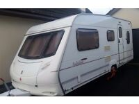 2004 Ace Jubilee Viceroy, 5 Berth touring caravan. Excellent Condition and Family Layout.
