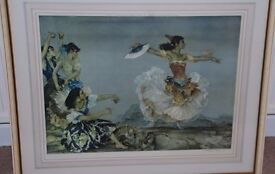 Sir William Russell Flint - Limited Edition Signed Print - Danza Montana