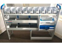 Van Shelving / Racking - SORTIMO - Very Good Condition - Suitable For Small To Medium Van