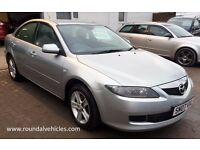 2007 MAZDA6 ( MAZDA 6 ) 2.0 TS DIESEL, LOW MILES 85k from new hist just serviced and mot until 2017